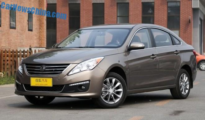 Dongfeng Fengxing Jingyi S50 hits the Chinese car market