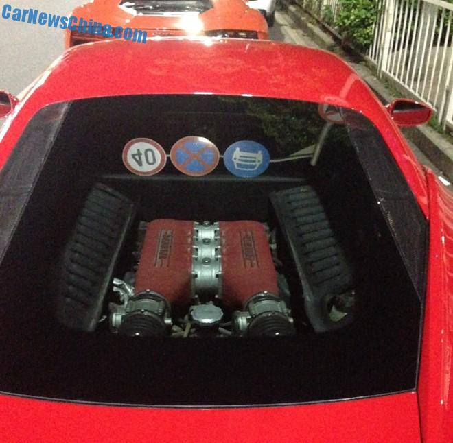 China Supercar Double Spot: Ferrari 458 & Lamborghini Aventador