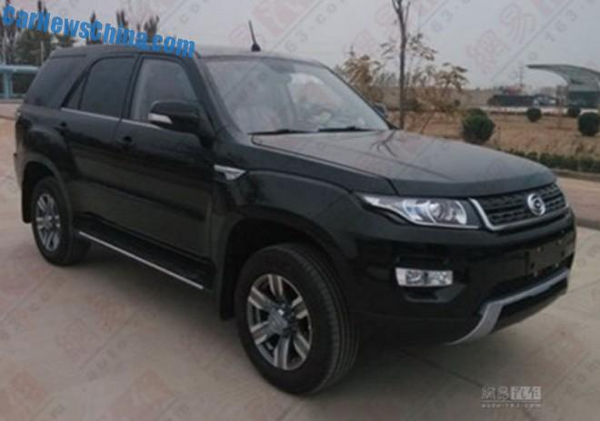 Spy Shots: Gonow GX6 SUV is Naked in China