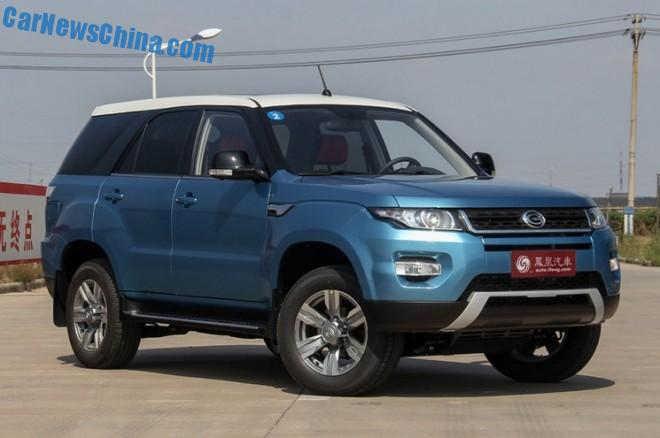 This is the new Gonow GX6 SUV for the Chinese car market
