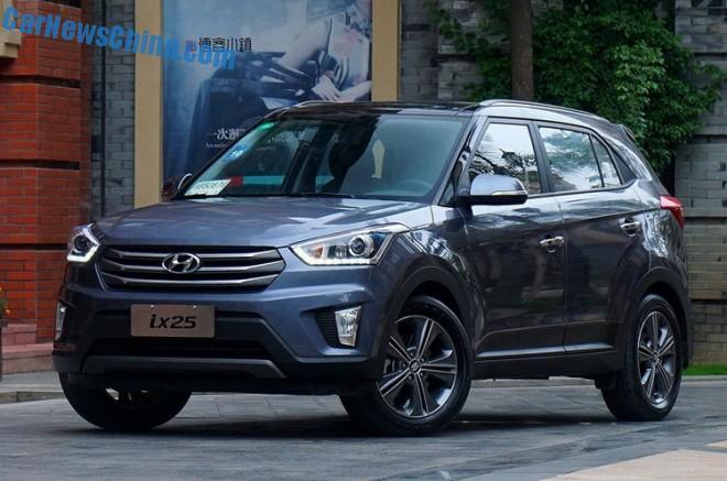 Hyundai ix25 will hit the Chinese car market on October 9