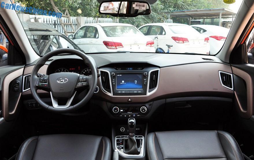 Hyundai Ix25 Will Hit The Chinese Car Market On October 9 border=