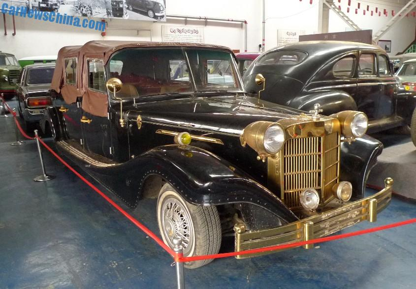 The Jinma QJM5022TYN6 Wedding Car at the Beijing Classic Car Museum ...