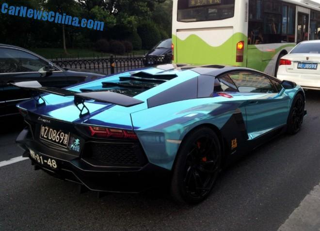 Spotted in China: Oakley Design Lamborghini Aventador LP760-4 Dragon Edition 1/10