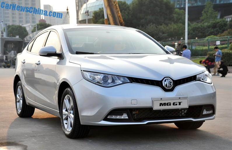 MG GT is Ready for the Chinese car market - CarNewsChina.com
