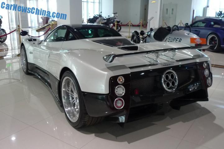 China Super Car Super Spot: Pagani Zonda F - CarNewsChina.com