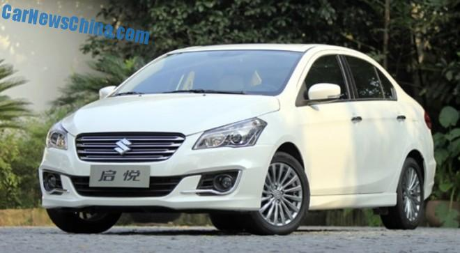 Suzuki Alivio sedan is Ready for the China car market