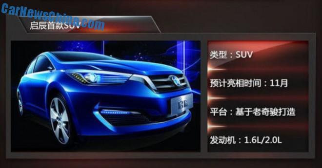 Venucia working on SUV and MPV for the Chinese car market