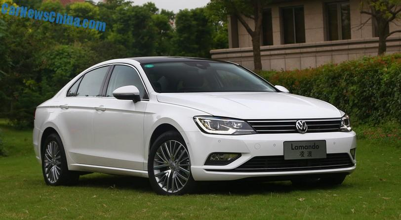 This Is The New Volkswagen Lamando For The Chinese Car Market Carnewschina Com