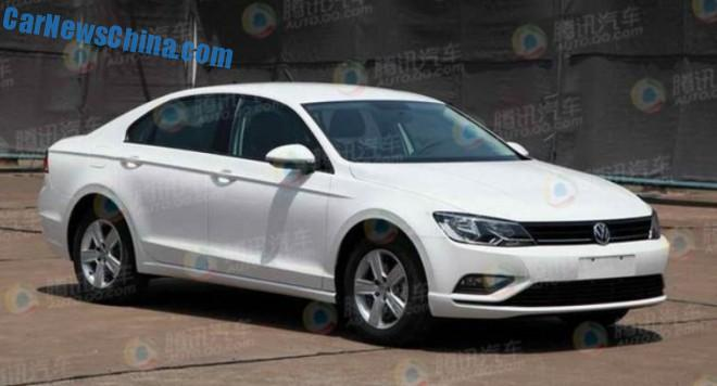 Spy Shots: Volkswagen Lamando is getting Ready for the China car market