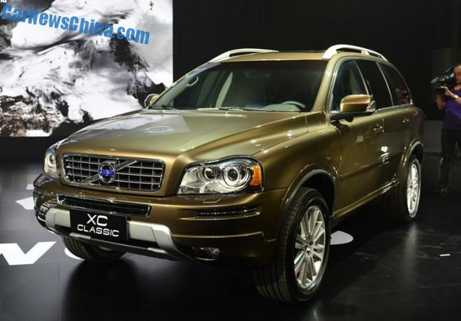Volvo XC Classic hits the Chinese car market