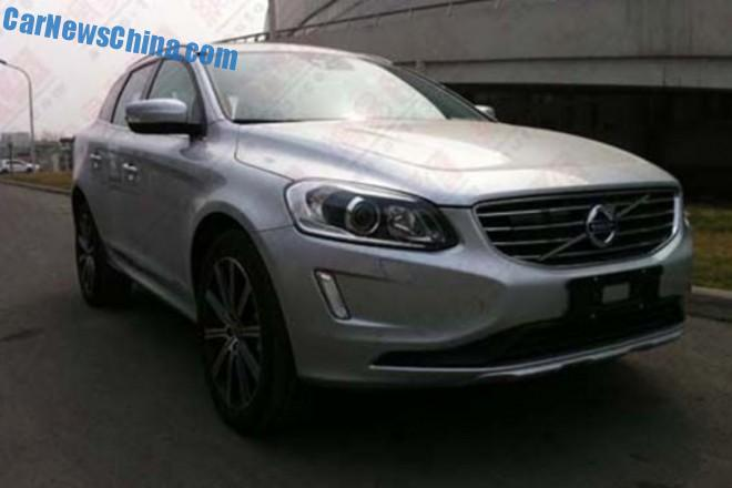 China-made Volvo XC60 will debut on the Guangzhou Auto Show
