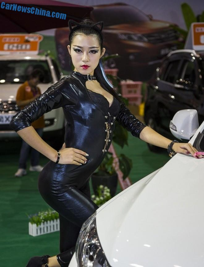 The Girls of the Yantai Auto Show in China