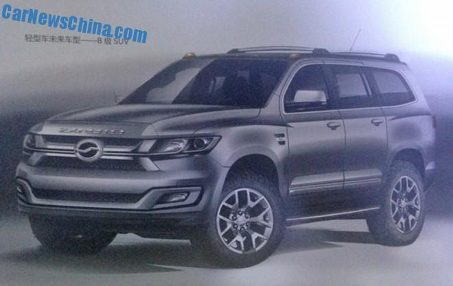 ZX Auto working on new SUV and new sedan for the China car market