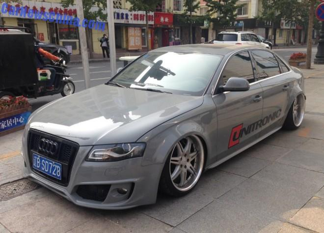 Audi A4L is a low rider in China