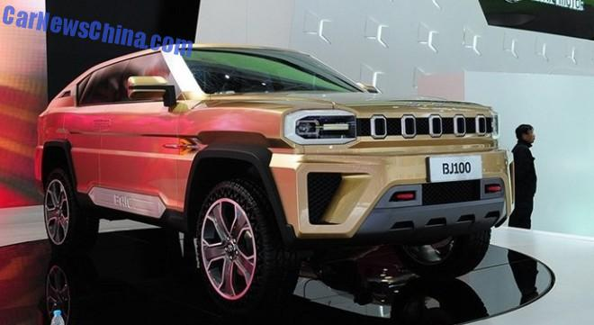 Beijing Auto BJ100 will see production in 2015