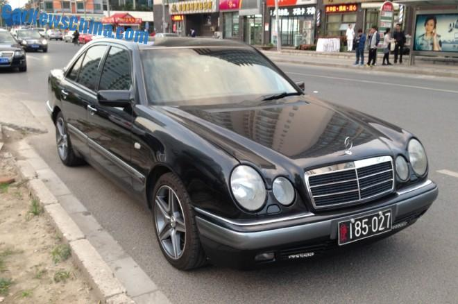 Spotted in China: W210 Mercedes-Benz E280