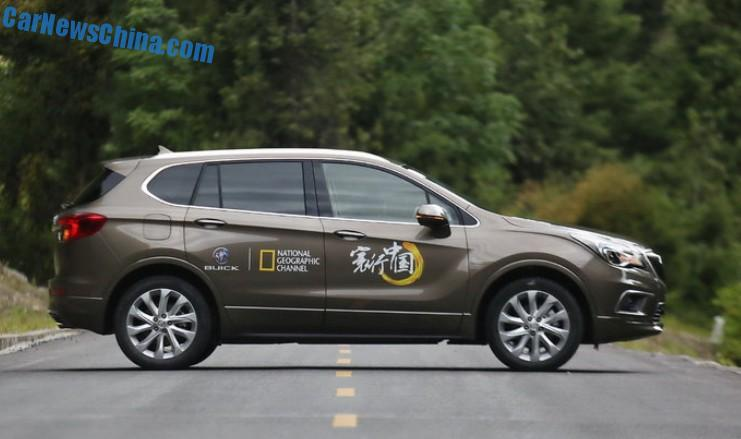 buick envision will hit the chinese car market on october 20. Black Bedroom Furniture Sets. Home Design Ideas