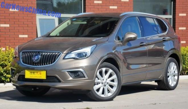 Buick Envision SUV launched on the Chinese car market