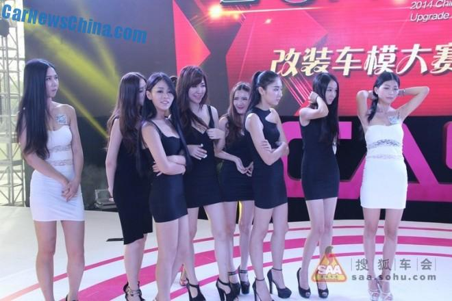 The Girls of the China Auto Salon in Shanghai, Part 3