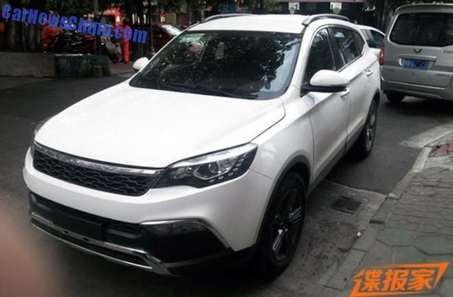 Spy Shots: Changfeng Liebao Q5 is Naked in China