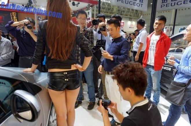 The China Car Girls of the Wuhan International Automobile Exhibition