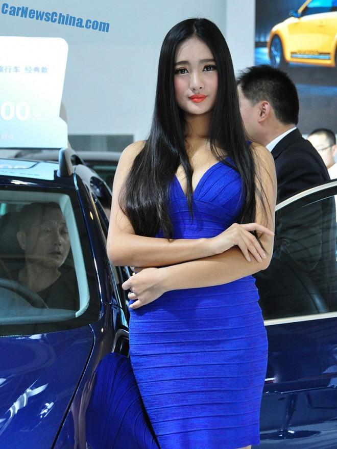 The Girls of the Xi'an Auto Show in China