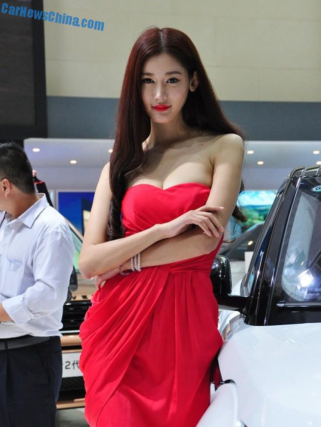 The Girls Of The Xi An Auto Show In China Carnewschina Com