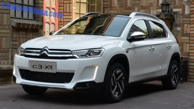 Citroen C3-XR will hit the China car market on December 21
