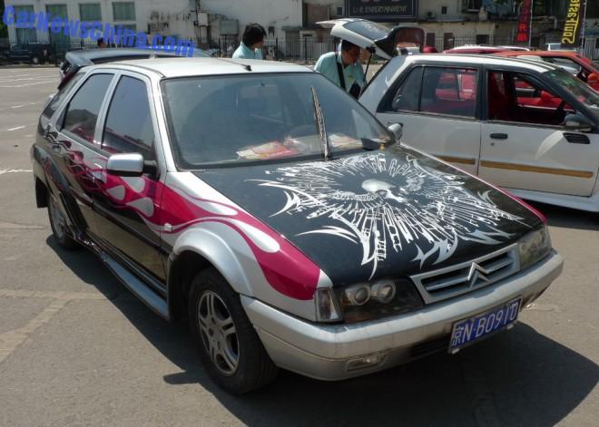 Citroen Fukang has a body kit in China