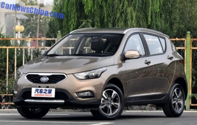FAW Junpai D60 SUV hits the Chinese car market