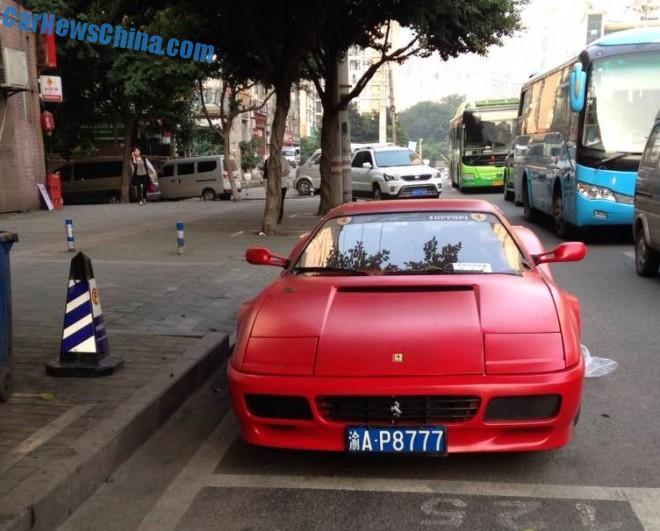 Spotted in China: Ferrari 512TR