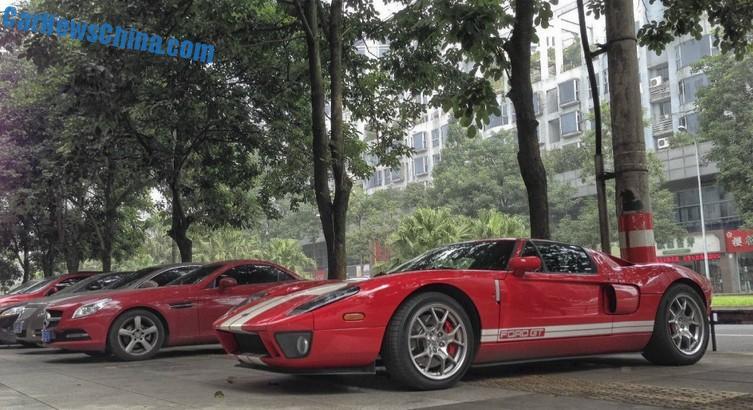 Ford Gt Crash China