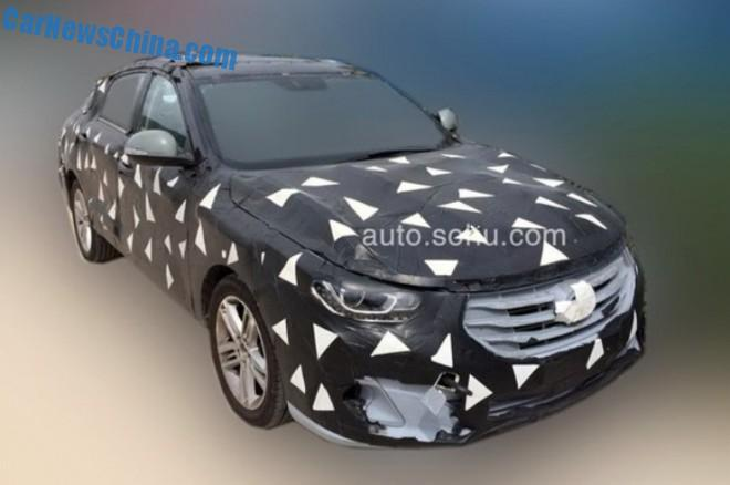 Spy Shots: Guangzhou Auto Trumpchi GA6 sedan testing in China
