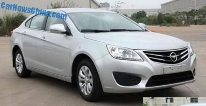 Haima M8 sedan goes Turbo in China