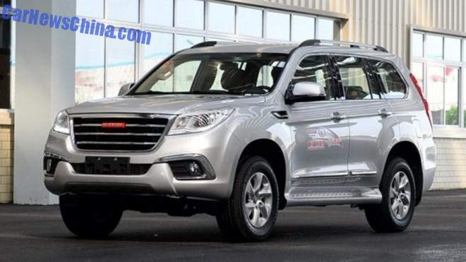 Haval H9 will hit the Chinese car market in early 2015
