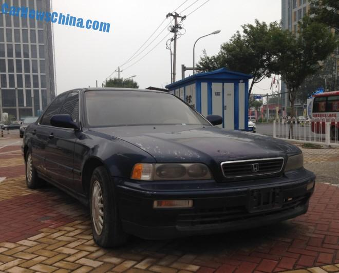 Spotted in China: second generation Honda Legend