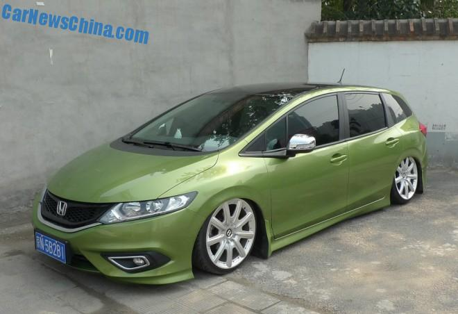 Honda Jade MPV is a low riding Bentley in China