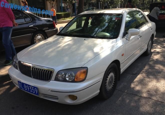 Spotted in China: Hyundai XG30