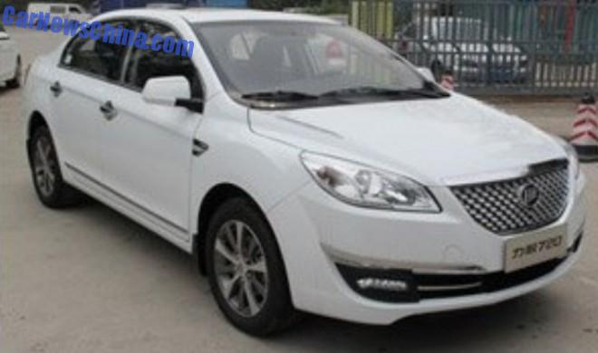 Spy Shots: facelift for the Lifan 720 in China