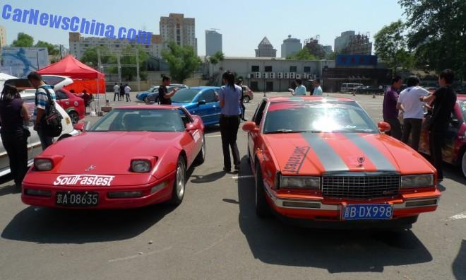 Spotted in China: Chevrolet Corvette & Cadillac Eldorado