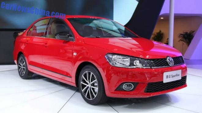 Volkswagen Jetta Sportline launched on the Chinese auto market