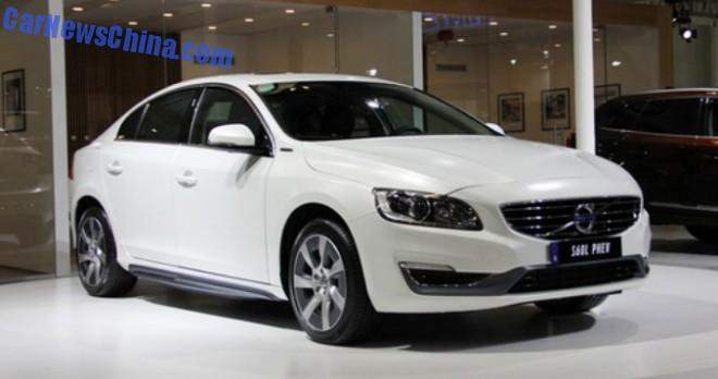 Volvo S60L Hybrid will be launched on the Chinese car market in mid-2015