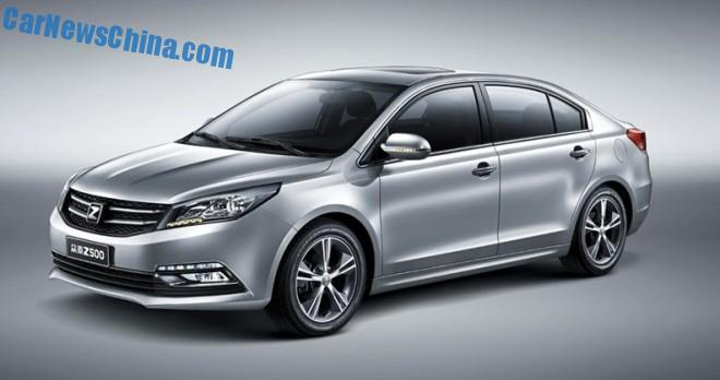 Officially Official: this is the Zotye Z500 sedan for the China car market