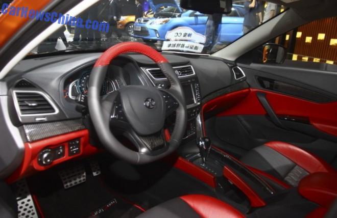 Saab 2.0 turbo in new Senova CC concept car 3