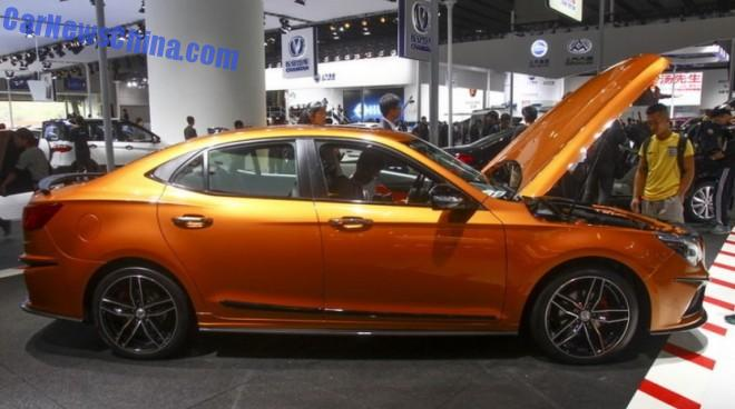 Saab 2.0 turbo in new Senova CC concept car 4