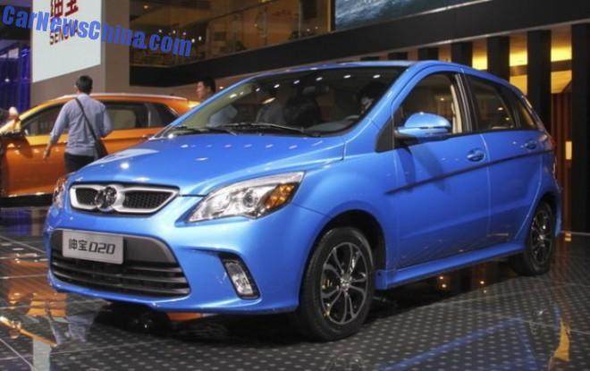 2014 Guangzhou Auto Show: Beijing Auto Senova D20 debuts in China