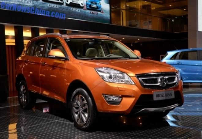 Beijing Auto Senova X65 SUV will be launched in China in 2015