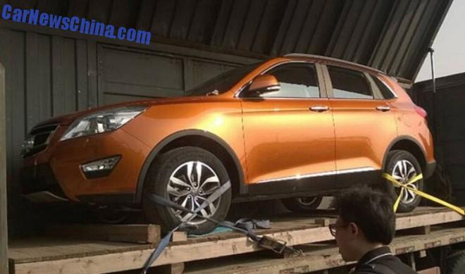 Beijing Auto Senova X65 SUV arrives at the Guangzhou Auto Show