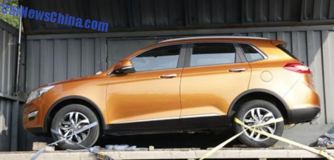 First SUV based on the platform derived from Saab 9-3
